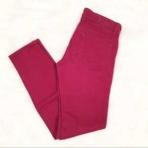 Kut from the Kloth red skinny/straight leg jeans 4